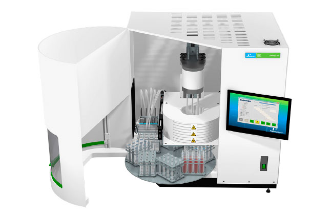 chemagic 360 instrument for nucleic acid extraction