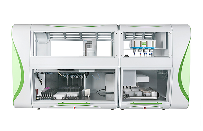 System for automated DNA and RNA isolation
