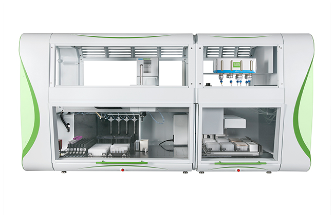 Automated RNA and DNA isolation