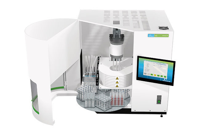 A compact and innovating instrument for automated DNA and RNA purification