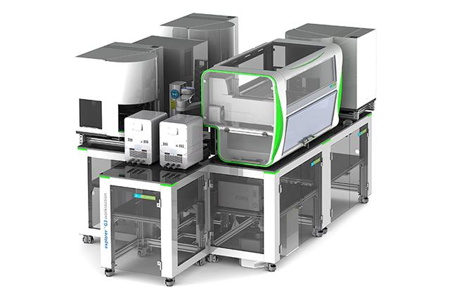 chemagic 360 instrument in explorer workstations