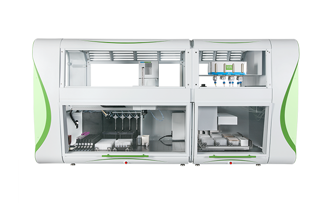 chemagic Prime Junior instrument for automated high-throughput pathogenic DNA or RNA isolation from plasma or serum