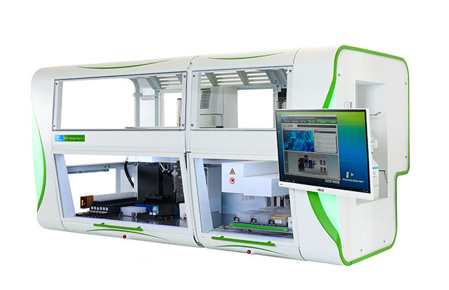 Fully automated RAN and DNA extraction