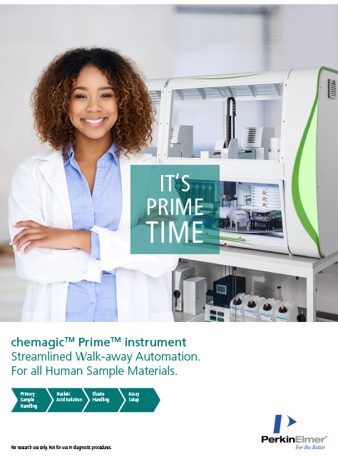 Magnetic separation technology realized in the chemagic Prime instrument